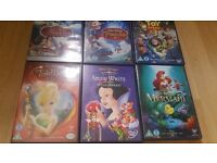 Disney dvds bundle £20