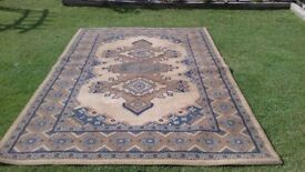 2 x Large Floor Rugs for Sale
