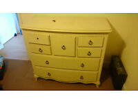 large and elegant solid wood chest of drawers (OPEN TO OFFERS)