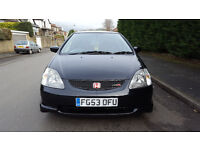 Honda civic type r rare spec 53 2004 immaculate condition