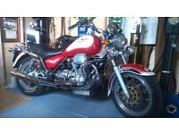 MOTO GUZZI CALIFORNIA EV ONLY 7,325 MILES FROM NEW