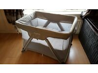 Nuna Sena Travel Cot With Bassinet (Immaculate Condition)