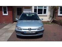 Peugeot 106 Look 2002 petrol 1.1l 45+mpg clean little city runner. Cheep insurance and tax!