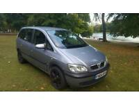 VAUXHALL ZAFIRA 1.6 2004 04 7 SEATER 1 OWNER FROM NEW