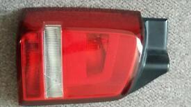 Vw t5 rear passenger left light