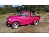 1968 Austin Morris Minor Pick up Hotrod Pink