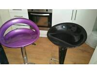 Two Bar chairs for sale