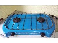 Camping Gaz Lagon Stove with regulator and 2 cylinders