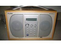 DAB portable radio