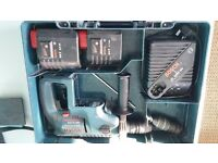 Bosch GBH 24 VFR Cordless Drill SDS Plus & 2 Batteries
