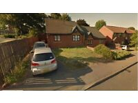 2 bed huge semi detached Bungalow looking for 3 bed house or 2 bed