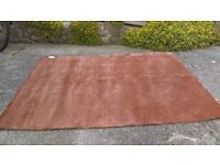 160 x 200 Carpet Burgundy-Brown - DELIVERY POSSIBLE
