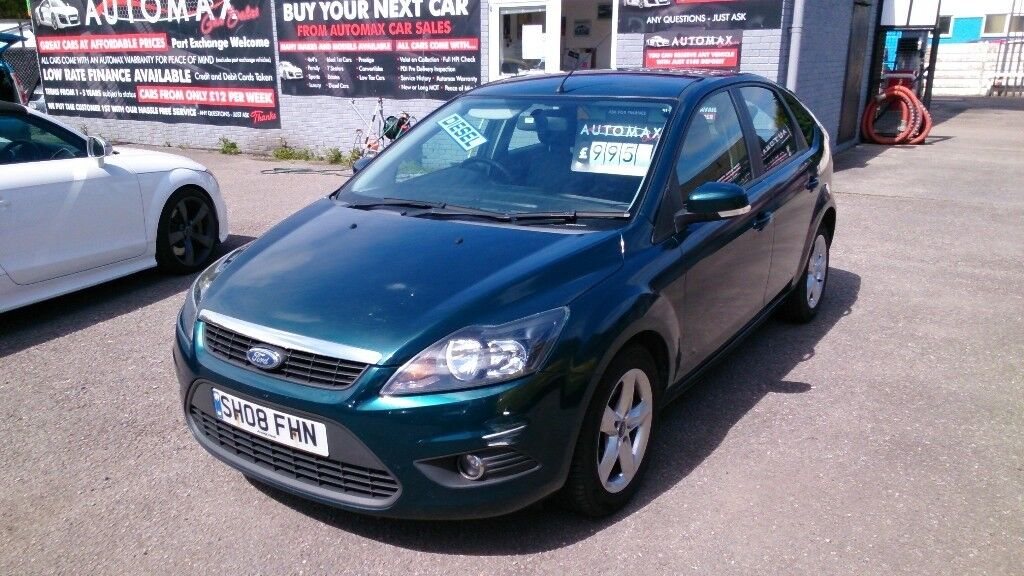 Part X To Clear  Ford Focus   Door Hatch Green July Mot