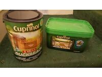 Cuprinol Anti Slip Decking Stain & Cuprinol Ducksback Shed and Fences