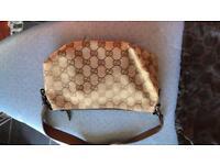 Real shoulder Gucci handbag