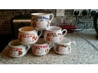 Soup bowls set