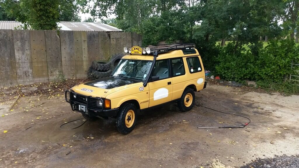 Landrover Discovery 3 5 V8 5speed 1989 Camel Trophy Replica In Ipswich Suffolk Gumtree