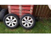 Vw alloys tyres