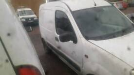 Two Renault Kangoo vans spares or repairs need a trailer tow them both away