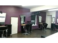 Chair to rent at SOLO hair Barnsley.