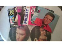 SELECTION OF ELVIS RECORDS (8 ALBUMS AND 2 PICTURE DISCS)