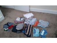 Boys clothes bundle for ages 3-6 months