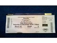 Concert ticket