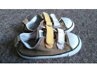 converse trainers. Infant Size 7.