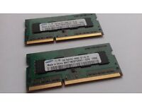 2x1GB RAM from Apple MacBook