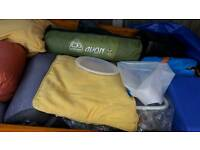 Camping trailer and equipment