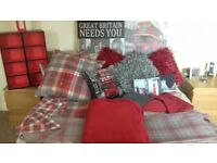 Fab collection of Bedding and bedroom accessories some from Next