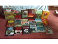 Various Military Books for Sale