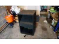 Empty 1+15 bass bin well used ideal for PA or bass guitar.