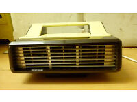 Philips electric heater vintage retro - heater philips 3232 3000w - Made GT. Britan