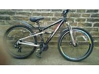 ***Apollo FS26S MTB 26inch wheels 21 gears dual suspension cheap bike