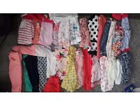 Baby girls clothes bundles 9-12