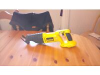 Dewalt DC380 XRP 18v Cordless Reciprocating Saw, GWO, bare unit, see photos & details