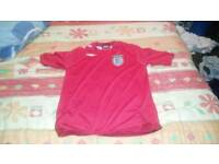 Boys England Football Shirt age 9/10