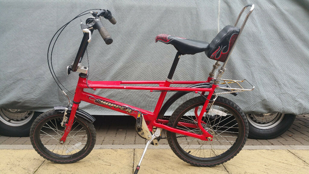 Raleigh Chopper - Red - The Hot One