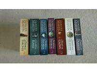 Game of Thrones Complete Set 7 Books