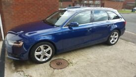 AUDI A4 2.0 TDI 2013 ESTATE FULLY LOADED 6 DPEED MANUAL LEATHER £30 tax SAT NAV 1 OWNER FROM NEW