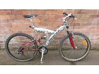 Mercier - Full Suspension Bike
