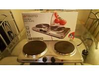 Double hot plate (potable stove)