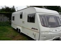 2004 avondale argente 6 berth touring caravan