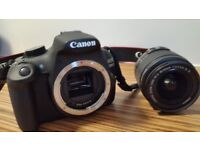 CANON 1200 D SLR CAMERA WITH ZOOM LENS