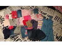 MASSIVE bundle of girls clothes 18-24 months