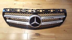 2013-15 Mercedes A class front bumper grill