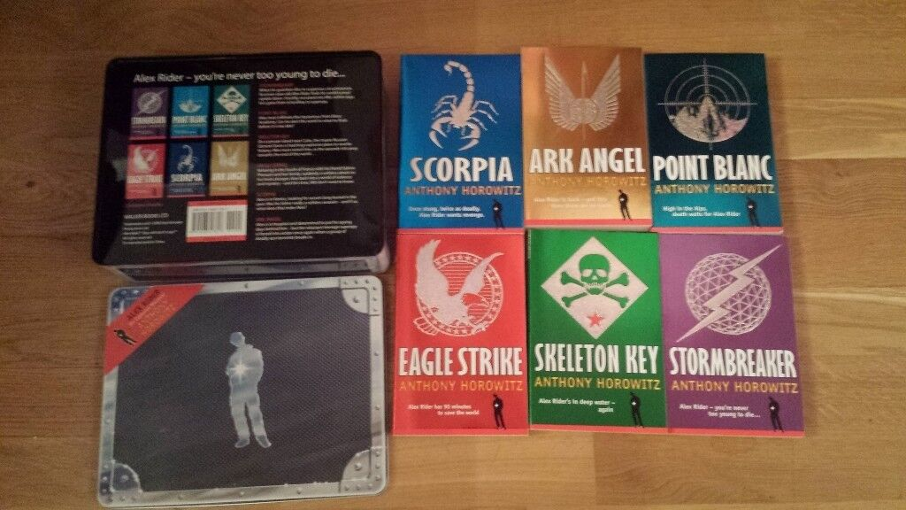 Alex Rider Box Set of 6 (as new) by Anthony Horowitz