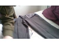 Grey School trousers slim leg too big for my daughter and some other straight leged ones