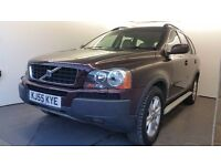 2005   Volvo XC90 2.4D SE   Auto   Diesel   2 Former Keepers   Service History   8 Months MOT  